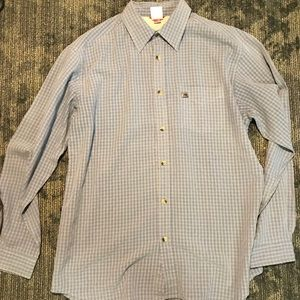 North face long sleeve button down